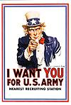 I Want You-Army Postcard