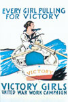 Victory Girl Magnet