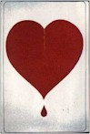 Broken Bleeding Heart Poster