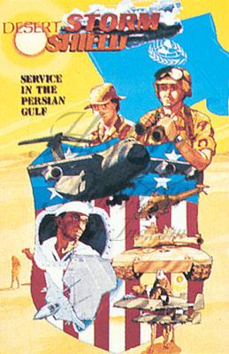 Desert Storm War Poster
