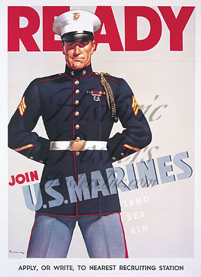 Ready Join Marines-Notecards