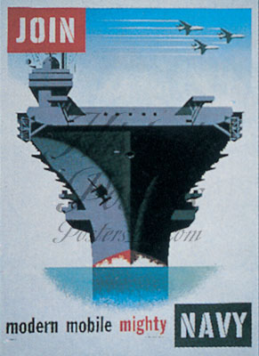 Mighty Navy Poster
