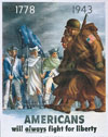 Americans 1778-1943 Poster