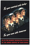 Women's Services Poster
