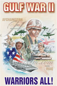 Gulf War II Poster