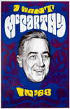 Eugene McCarthy Caricature Poster