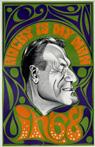 Nelson Rockefeller Caricature Poster