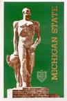 Michigan State-Spartan Statue